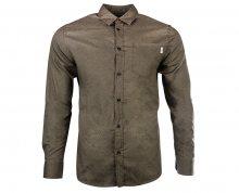 Jack&Jones Pánská košile Jorstroke Shirt Ls Cordovan S