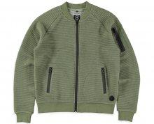 Cars Jeans Pánská zelená mikina Ivan Army 4382619 S