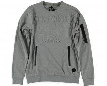Cars Jeans Pánská stylová mikina Galle Grey 4352653 S