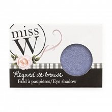 Miss W Oční stíny s vysokým obsahem pigmentu (Eye Shadow) 1,7 g No 001 - Pearly White