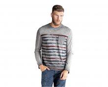 Edward Jeans Pánské triko s dlouhým rukávem Normi T-Shirt 16.1.1.01.074 M