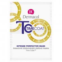 Dermacol Intenzivně zdokonalující pleťová maska Time Coat (Intense perfector Mask) 2 x 8 ml