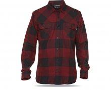 Dakine Pánská košile Cascade L/S Flannel Rosewood 10000894-W17 M
