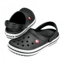 Crocs Černé pantofle Crocband Black 11016-001 37-38