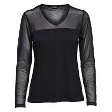ONLY Dámské triko Dilan L/S Mesh Top JRS Black L