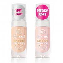 Dermacol Zkrášlující fluid (Sheer Face Illuminator) 15 ml 02 Day Light