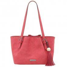Tamaris Elegantní kabelka Natalie Shopping Bag 2500181-616 Coral Comb.