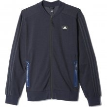 adidas Denim American Sports Jacket modrá 2XL