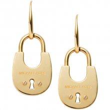 Michael Kors Luxusní pozlacené náušnice MKJ4630710