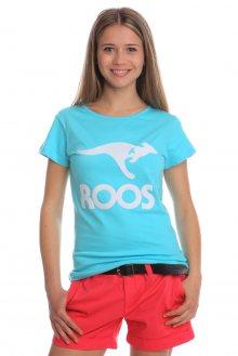Kangaroos Dámské tričko Roos American T0668_ss15 modrá\n\n