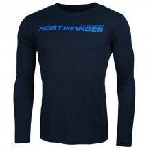 Northfinder Pánské triko s dlouhým rukávem Ignazio Darknavy TR3265SP-304 L