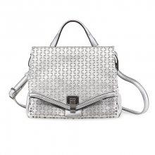 Tamaris Elegantní kabelka Pamela Small Satchel Bag 2138171-941 Silver