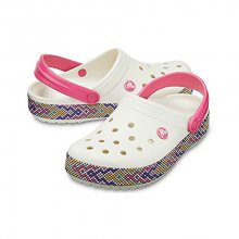 Crocs Pantofle Crocband Gallery Clog Oyster 205166-159 37-38