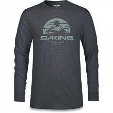 Dakine Pánské tričko Yoder L/S Tech T Heather Black 10001520-W18 M