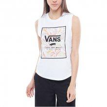 VANS Dámské triko Cali Floral Muscle White VA3ISDWHT XS