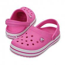 Crocs Dětské pantofle Crocband Clog Party Pink 204537-6U9 23-24