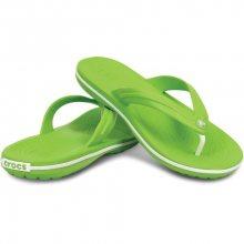 Crocs Žabky Crocband Flip Volt Green-White 11033-394 45-46