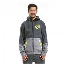 Meatfly Mikina Twitch 2 Technical Hoodie D - Charcoal Heather/Grey S