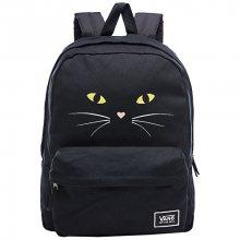 VANS Dámský batoh Realm Classic Backpack Black Cat VA34G7P21