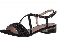 Tamaris Dámské sandále 1-1-28221-20-006 Black Struct. 36