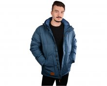 Meatfly Pánská bunda Chubby 2 Mns Jacket A - Petrol Heather S