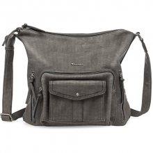 Tamaris Elegantní kabelka Adriana Hobo Bag L 2358172-001 Black