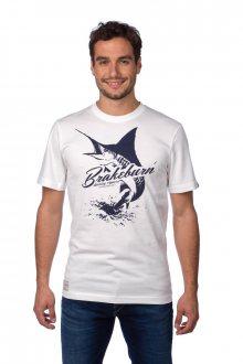 Brakeburn Pánské tričko BBMSST002008F15_aw15 bílá