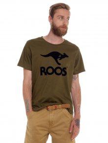 Kangaroos Pánské tričko Roos American T2437_ss15 khaki