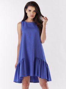 Awama Dámské šaty A176_BLUE\n\n