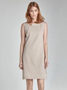 Nife Dámské šaty s23_beige
