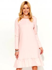 Makadamia Dámské šaty m364_powder pink