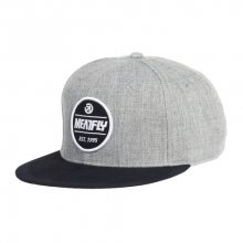 Meatfly Kšiltovka Troop Snapback A Heather Grey