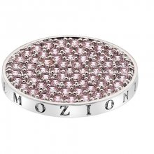 Hot Diamonds Přívěsek Emozioni Scintilla Pink Compassion EC346_EC347 25 mm