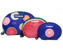 Desigual Sada pouzder Pouch Trio Fruits 73Y9EC3 5036