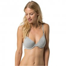 Tommy Hilfiger Dámská podprsenka Cotton Iconic T-shirt Bra 1387904876-4 Grey Heather 75A