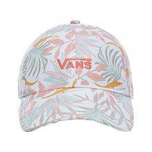 VANS Dámská kšiltovka Court Side Printed Hat White California Floral VA34GRP3V