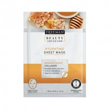 Freeman Hydratační látková maska Manukový med a kolagen Beauty Infusion (Hydrating Sheet Mask) 25 ml