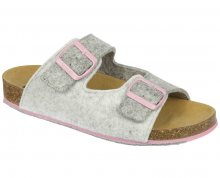 Scholl Dámské pantofle Spikey8 Bioprint Grey/Light Grey/Pink F266952103 37