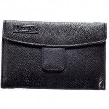 Meatfly Dámská peněženka Mia Wallet E - Black, Feather Print