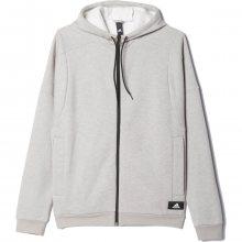 adidas Basic Fz Hood šedá XL