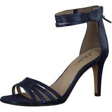 s.Oliver Elegantní dámské páskové boty Dark Blue 5-5-28331-28-806 36