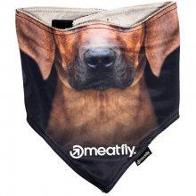 Meatfly Šátek na obličej Frosty Mask G - Dog L/XL