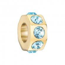 Přívěsek Morellato Drops Blue Crystal CZ379