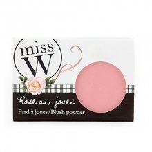 Miss W Pudrová tvářenka pro zdravý vzhled pleti (Blush Powder) 6,5 g Peach