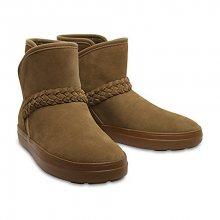 Crocs Dámské zimní boty LodgePoint Suede Bootie W Hazelnut 204798-28G 36-37
