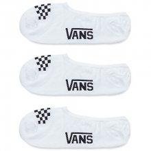 VANS Balení 3ks dámských ponožek Basic Canoodle White/Black V00X1KYB2