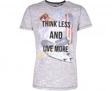 Noize Pánské triko s krátkým rukávem White 4436200-00 XL