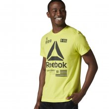 Reebok Speedwick Performance Delta Top žlutá XL