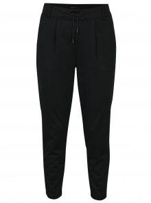 Černé kalhoty se třpytivým efektem ONLY Poptrash
