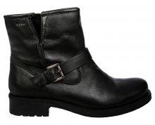 GEOX Dámské kotníkové boty Donna New Virna Black D7451G-000TU-C9999 38